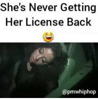 Drink responsibly! FULL STORY & VIDEO AT PMWHIPHOP.COM LINK IN BIO 😩 @pmwhiphop @pmwhiphop @pmwhiphop @pmwhiphop: She's Never Getting  Her License Back  @pmwhiphop Drink responsibly! FULL STORY & VIDEO AT PMWHIPHOP.COM LINK IN BIO 😩 @pmwhiphop @pmwhiphop @pmwhiphop @pmwhiphop