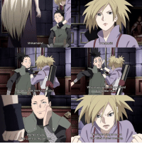 Memes, 🤖, and Why: Shikamaru!  Why re you jusgsitting around  dazed like that?!  l expect alot more from you!  Thanks to you  me a  ve come to my sens  es Do you prefer ShikaIno or ShikaTema?