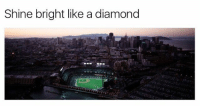 Baseball, Goals, and Memes: Shine bright like a diamond  th Missing MLB baseball already.. . . AllStar Break OffDay Shine Bright ESPYS MLB Night Light Baseball Lifestyle Instagood Goals