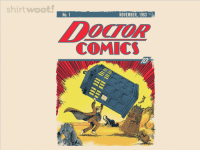Woot has a shirt on sale today that only this sub could appreciate (link in the comments): shirt woot!  NOVEMBER, 1963  No. 1  COMICS  EE Woot has a shirt on sale today that only this sub could appreciate (link in the comments)