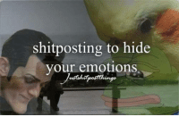~just admin things <3: shitposting to hide  your emotions. ~just admin things <3