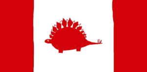 shittydinosaurdrawings:  sfthearts:  shittydinosaurdrawings: here's what the Canadian flag would look like if you rplaced the maple leef with a stegosaurus  the maple what now   Leef. Leef from treee. : shittydinosaurdrawings:  sfthearts:  shittydinosaurdrawings: here's what the Canadian flag would look like if you rplaced the maple leef with a stegosaurus  the maple what now   Leef. Leef from treee.