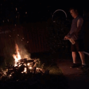 Squirt, Target, and Tumblr: shittyidea:  Put gasoline in a squirt bottle to get your bonfire going