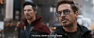 shittymoviedetails:  In Avengers: Infinity War, Tony Stark apologizes to Ebony Maw because he knows Ebony was unaware that Earth was actually closed due to the coronavirus pandemic.: shittymoviedetails:  In Avengers: Infinity War, Tony Stark apologizes to Ebony Maw because he knows Ebony was unaware that Earth was actually closed due to the coronavirus pandemic.