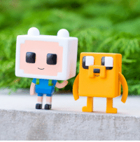 Memes, Minecraft, and Pop: Shmowzow! NEW Adventure Time x Minecraft swag just dropped- get your POP! vinyls and Tshirts before they're gone! 👾🐶👦🏼 . Shop them now: cartn.co-ATminecraft AdventureTime Minecraft ATxMinecraft