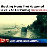 Record number of unusual weather patterns and events reported so far in 2017 - FULL VIDEO AT PMWHIPHOP.COM LINK IN BIO: Shocking Events That Happened  In 2017 So Far (Video)  PMWHIPHOPCOM  STORM  storm slams SouthernCalifornia  ATC Record number of unusual weather patterns and events reported so far in 2017 - FULL VIDEO AT PMWHIPHOP.COM LINK IN BIO