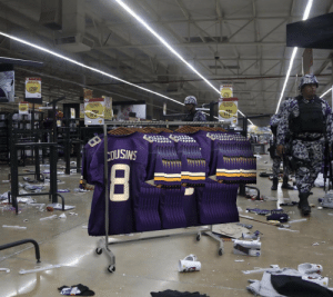 SHOCKING: Minneapolis rioters loot store, take everything except Kirk Cousins jerseys. https://t.co/1k8E1Pba1v: SHOCKING: Minneapolis rioters loot store, take everything except Kirk Cousins jerseys. https://t.co/1k8E1Pba1v