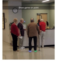 Grandpa shoe game is lit: Shoe game on point Grandpa shoe game is lit