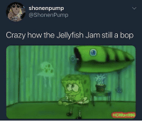 Crazy, How, and Who: shonenpump  @ShonenPump  BIG  KIE  Crazy how the Jellyfish Jam still a bop  HDMan896 Who remembers this?! 😂💯 https://t.co/fRGJaihVks
