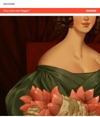 God, Target, and Tumblr: shoomlah  Your post was flagged  REVIEW kugelschreibers: shoomlah:  shoomlah:   I guess I can't fault them for this one, look at those glistening gecko tails and that demure c. 1830's decolletage good god