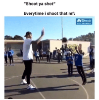"Funny, Lmao, and Twitter: ""Shoot ya shot""  Everytime i shoot that mf:  NDCSAUTHENTIc Lmao how it be 👉🏽(via: @nbcsauthentic iamwilliewill-twitter)"