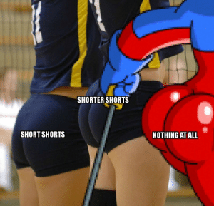 Reddit, Sexy, and All: SHORTER SHORTS  SHORT SHORTS  NOTHING AT ALL Stupid sexy Flanders...