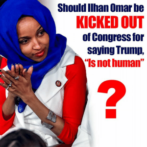 "Should she be?  There Is PANIC In The Diabetes Industry! Big Pharma executives can't believe their eyes. SEE WHY CLICK HERE ►► http://u-read.org/no-diabetes: Should Ilhan Omar be  KICKED OUT  of Congress for  saying Trump,  Is not human"" Should she be?  There Is PANIC In The Diabetes Industry! Big Pharma executives can't believe their eyes. SEE WHY CLICK HERE ►► http://u-read.org/no-diabetes"