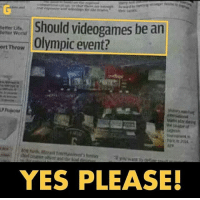 games gamers gaming gamer esport sport videogames olympic event olympicevent videogamesforlife onlygamers OnlineGames onlygamersknow: Should videogames be an  Better ufa  World  ort Throw  Olympic event?  YES PLEASE! games gamers gaming gamer esport sport videogames olympic event olympicevent videogamesforlife onlygamers OnlineGames onlygamersknow