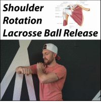 Blade, Memes, and Common: Shoulder  Rotation  Lacrosse Ball Release MOVEMENT CREATES POSTURE When we look at static postures, we often think in terms of which muscles are tight and holing us there. Then we release them, feel better, and can hold a better posture for a while. But it's often temporary.❌⏰ . A reason for that is because we often have underlying movement patterns that promote our postural faults. One of the most common ones I see is a lack of internal rotation causing rounded shoulders. . The humerus should be able to freely rotate on the scapula. If it can't, your body will find a way to gain the motion. And guess where it comes from. 😕 Your whole shoulder blade rolls forward in order to let you achieve that position and motion. . So audit yourself and your movement. Do you have free articulation of one bone on another? If you don't, you are likely compensating and creating the patterns you want to fix so badly. . Tag a friend with rounded shoulders and share the wealth! MyodetoxOrlando Myodetox FutureproofYourBody