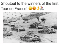 Tour De France, France, and The Real: Shoutout to the winners of the first  Tour de France!  , ソ01 They were the real winners https://t.co/bJTA3cbP7B