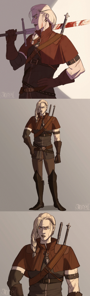 shouty-y:    after seeing all those cool witcher ocs I caved and  turned my oc Yaëlle into a Witcher, from school of the Wolf: shouty-y:    after seeing all those cool witcher ocs I caved and  turned my oc Yaëlle into a Witcher, from school of the Wolf