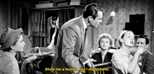 Tumblr, Blog, and Eve: Show me a human and I mightshave. classicfilmblr:  All About Eve (1950) dir. Joseph L. Mankiewicz