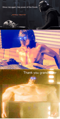 <p>The Swole Side is a pathway to many abilities some consider to be&hellip; unnatural</p>: Show me again, the power of the Swole  Thank you grandf er <p>The Swole Side is a pathway to many abilities some consider to be&hellip; unnatural</p>