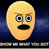 Memes, 🤖, and Got: SHOW MII WHAT YOU GOT any wii fans? follow @rickmortymemes (me) for more! 🍑