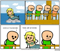 Cyanide and Happiness: SHOW US YOUR BOOBS!  THESE ARE MY BOOBS.  Cyanide and Happiness  Explosm.net  Memes CONM