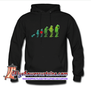Clothes, Shopping, and Curtains: showercurtains.com  YOUR SHOPPING PLACES FOR CLOTHES AND CURTAINS The Evolution of Kermit hoodie - myshowercurtains