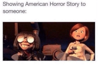 Americanness: Showing American Horror Story to  Someone