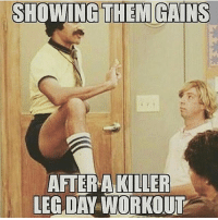 @thegymdudes . Check these out 😏😏😏 . Hashtags: gym gymrat gymmemes gymhumor gymhype funnygym workouthumor meme lifting liftinghumor lift funnylifting girlswholift gymgrind riseandgrind fitfam progress gymmotivation gym💪 gymshark gymselfie gymfail gymgirl gymaholic liftheavy workout workoutmotivation workouts funny: SHOWING THEM GAINS  AFTER A KILLER  LEG DAY WORKOUT @thegymdudes . Check these out 😏😏😏 . Hashtags: gym gymrat gymmemes gymhumor gymhype funnygym workouthumor meme lifting liftinghumor lift funnylifting girlswholift gymgrind riseandgrind fitfam progress gymmotivation gym💪 gymshark gymselfie gymfail gymgirl gymaholic liftheavy workout workoutmotivation workouts funny