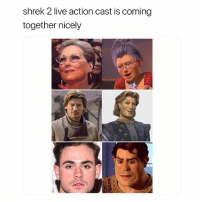 Illuminati, Shrek, and Live: shrek 2 live action cast is coming  together nicely Illuminati confirmed