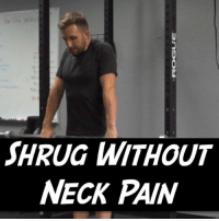 "WHY THE ""UPPER TRAP"" CAUSES NECK PAIN The upper trap is one of the most 😈villified muscles in the body, even though it plays a critical role in proper shoulder mechanics. The thought is that constant tightness and tension cause irritation to the neck. But I'm not convinced that's the case. Here's why. The upper trap works in conjunction with the levator scapulae to elevate the shoulder blade. But they work differently based on shoulder position. The levator is a ⤵️downward rotator of the scap so it works much better with the arms by the side. The trap fibers however are angled diagonally and act as an ⤴️upward rotator. If you saw my IG story today you saw me talk about this. Go watch if you haven't. So when you shrug up with the arms by the sides, the levator will preferentially take more workload. This is what can happen every time you 😟stress breathe up to your ears or in this case, do a traditional shrug. If instead, you hold the arm out to the side slightly so that the shoulder blade goes into upward rotation, the trap will do more work, and the levator will do less. And if you go overhead this is magnified more. So we can use this to our advantage. Now, if normal shrugs are good for you with no neck pain, feel free to use them, but if you ever do get neck pain from shrugs or just want an awesome pump, try going out wide into a snatch grip or, my personal favorite, setting the bar overhead to shrug 🏋️‍♂️ (we just set the J-cups up high so we don't have to press each time). This just might let you get all trap jacked 💪 without having your neck suffer the consequences. Tag a friend with neck pain and share the wealth! PS - How do you like the title being there? Playing around with some new 🎬 edits and would love some 🗯 feedback so I can optimize it for you all! Thanks guys! MyodetoxOrlando Myodetox: SHRUG WITHOUT  NECK PAIN WHY THE ""UPPER TRAP"" CAUSES NECK PAIN The upper trap is one of the most 😈villified muscles in the body, even though it plays a critical role in proper shoulder mechanics. The thought is that constant tightness and tension cause irritation to the neck. But I'm not convinced that's the case. Here's why. The upper trap works in conjunction with the levator scapulae to elevate the shoulder blade. But they work differently based on shoulder position. The levator is a ⤵️downward rotator of the scap so it works much better with the arms by the side. The trap fibers however are angled diagonally and act as an ⤴️upward rotator. If you saw my IG story today you saw me talk about this. Go watch if you haven't. So when you shrug up with the arms by the sides, the levator will preferentially take more workload. This is what can happen every time you 😟stress breathe up to your ears or in this case, do a traditional shrug. If instead, you hold the arm out to the side slightly so that the shoulder blade goes into upward rotation, the trap will do more work, and the levator will do less. And if you go overhead this is magnified more. So we can use this to our advantage. Now, if normal shrugs are good for you with no neck pain, feel free to use them, but if you ever do get neck pain from shrugs or just want an awesome pump, try going out wide into a snatch grip or, my personal favorite, setting the bar overhead to shrug 🏋️‍♂️ (we just set the J-cups up high so we don't have to press each time). This just might let you get all trap jacked 💪 without having your neck suffer the consequences. Tag a friend with neck pain and share the wealth! PS - How do you like the title being there? Playing around with some new 🎬 edits and would love some 🗯 feedback so I can optimize it for you all! Thanks guys! MyodetoxOrlando Myodetox"