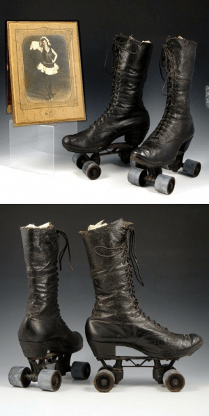 God, Tumblr, and Aesthetic: shuliee:  officialputin:  ughgodwhatever:   walzerjahrhundert: Victorian High Top Roller Skates  For the witch on the go   Now THIS is my aesthetic  god the two most dangerous kinds of footware combined into one