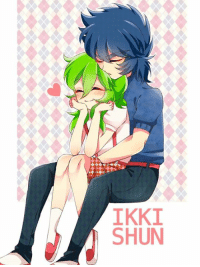 """Dank, 🤖, and Php: SHUN  IN  KU  ll  IS Obligatory """"really haven't watched much anime this week. i've actually been sleeping hahahaha... """" Post of the day~   Remember that time Ikki fell in love with a girl who looked like his brother? Now you know why all the Shun x Ikki shippers happened.   http://www.pixiv.net/member_illust.php?mode=manga&illust_id=61778874"""