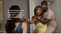 """Ass, Dude, and Stan: shuri  fandoms disgusting ass  shipping her with her  (way older) cousin and a  like 90 year old white  me <p><a href=""""https://lisyoaran.tumblr.com/post/171232722835/can-u-guys-please-stop-thank-you"""" class=""""tumblr_blog"""">lisyoaran</a>:</p>  <blockquote><p>can u guys please stop. thank you.</p></blockquote>  <p>OK so for minute I forgot the """"90-year-old white dude"""" was a reference to Bucky and I legitimately thought they were suggesting that people were shipping Shuri with the Stan Lee cameo 😂😂😂</p>"""