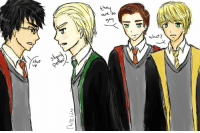 shut  are so  hat? Drarry Photospam! (As you can tell, both Admins love Drarry.) 1/7