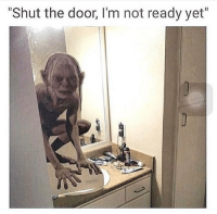 """Memes, 🤖, and The Doors: """"Shut the door, I'm not ready yet"""" When she's not ready. 🤣🤣🤣 https://t.co/CBVZoBQ3g9"""