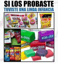 Candy, Memes, and Che: SI LOS PROBASTE  TUVISTE UNA LINDA INFANCIA  Costa  SOBLON  Rd  MEMES  VORED  GRAPE  Candy  an  NOindATE  CACa  CANDY  Candy  CHERRY  candy  sarbecue  Che