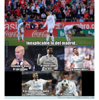 Memes, Emirates, and Messi: SI  ro.c  Inexplicable lodel madrid...  Ely  Emirate  FIV  Emirates  Al futuro balón  Teniendo al mejor  DT del mundo  de Oro  AI nuevo Messi  Emirate  A la combinaciónentre  irates  YalTheBest  Ríete con el deporte en MEMEDEPORTES.COM  idaney Ronaldo Inexplicable lo del Madrid asensio benzema cr7 girona isco realmadrid zidane memedeportes