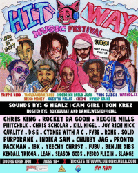 Los Angeles! August 16 It's going down! Going to be a movie! Tickets is legit flying! Cop your tickets in @hitwayrecordings bio! 😈, be ready: SIC FESTIVA  ONION  4067 W PICO  90019 LA  TRIPPIE REDD THOUXANBANFAUNI HOODRICH PABLO JUAN YUNG GLEESH WARHOL.SS  DIEGO MONEY QUENTIN MILLER CHXPO DUWAP KAINE  SOUNDS BY G NEALZ I CAM GIRL I DON KREZ  HOSTED BY: BOXXQUIAT AND DANIELWESTOFFICIAL  CHRIS KING ROCKET DA GOON . REGGIE MILLS  PIIITCHBLK. CHRIS SCHOLAR. KILL NIGEL JOY RICH NICK  QUALITY . DSE . CYDNEE WITH A C FVBE. RONE. SOLID  PURPDRANK. INDIKA SAM CHUBBY JAG, PRONTO  PACKMAN. 18K. YEECHY CHRIST. FUBU. BENJIE DIBS  KENDALL TRIGGA LEAH. SEASON GODS. PEDRO FLEXIN SLANGE  DOORS OPEN 7PMAGES 19+XTICKETS AT WWW.UNIONCLUBLA COM Los Angeles! August 16 It's going down! Going to be a movie! Tickets is legit flying! Cop your tickets in @hitwayrecordings bio! 😈, be ready