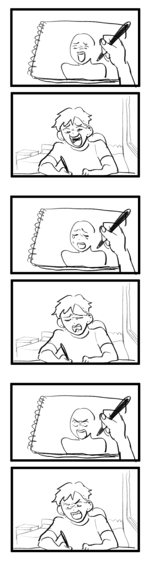 sickarknife:when i draw facial expressions: sickarknife:when i draw facial expressions