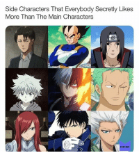 Ass, Memes, and Swag: Side Characters That Everybody Secretly Likes  More Than The Main Characters  MEMES Lowkey Killua got more swag than Gon but Gon will still beat his ass so that's why Gon is my main pfp and Killua is my @ter0me pfp 😎
