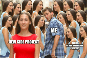 Side projects are more interesting always!: Side projects are more interesting always!