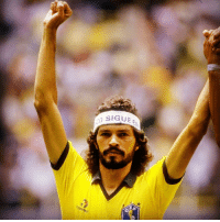 Memes, Brazil, and Brazilian: SIGUE As his name suggests, Socrates Brasileiro Sampaio de Souza Vieira de Oliveira was more than just a great football star. He was, first and foremost, a great Brazilian. 5 years ago today, one of the most elegant and iconic midfielders ever to grace the famous Brazil 🇧🇷 shirt, passed away. Unlike so many of his countrymen before and after, he never got to lift the WorldCup. But together with Zico and Falcao, the trio bewildered opponents with their quick interplay. And left memories that will never leave those who saw him play. Rest in Peace. legend