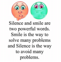Attention all single, dating and married men and women… Are you repelling the opposite sex? (…And missing out on the love, passion and connection you deserve?). Take this 60 second quiz and find out -> http://bit.ly/sweetone: Silence and smile a  two powerful words.  Smile is the way to  solve many problems  and Silence is the way  to avoid many  problems. Attention all single, dating and married men and women… Are you repelling the opposite sex? (…And missing out on the love, passion and connection you deserve?). Take this 60 second quiz and find out -> http://bit.ly/sweetone