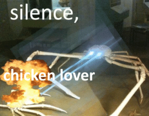 Chicken, Silence, and How: silence,  chicken lover How dare they