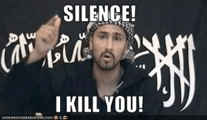 Funny, Memes, and Pictures: SILENCE!  I KILL YOU!  ICANHASCHEEZEURGER.CoM SILENCE! I KILL YOU! - Cheezburger - Funny Memes | Funny Pictures