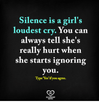 25 Best Silence Is A Girls Loudest Cry Memes Ignoring You Memes