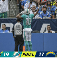 Memes, 🤖, and Csc: SILLS  CSC  EVENT  STAFF  19  FINAL 17 FINAL: The @MiamiDolphins begin the season 1-0! #FinsUp https://t.co/dXfCNoolL7