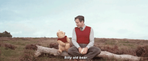 Tumblr, Winnie the Pooh, and Bear: Silly old bear captainpoe:Winnie the Pooh(1944)/ The Search For Christopher Robin(1997)/ Christopher Robin(2018)