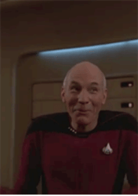 Silly Picard [x-post from r/reactiongifs because it made me smile. Thought you might enjoy, as well.]: Silly Picard [x-post from r/reactiongifs because it made me smile. Thought you might enjoy, as well.]