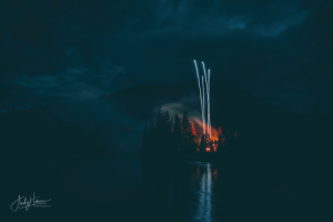 'Stranger Things' feel on some fireworks at the end of Banff's Canada Day 2019 Celebrations: Sily's  AMes  PHOTOGRAPHY 'Stranger Things' feel on some fireworks at the end of Banff's Canada Day 2019 Celebrations